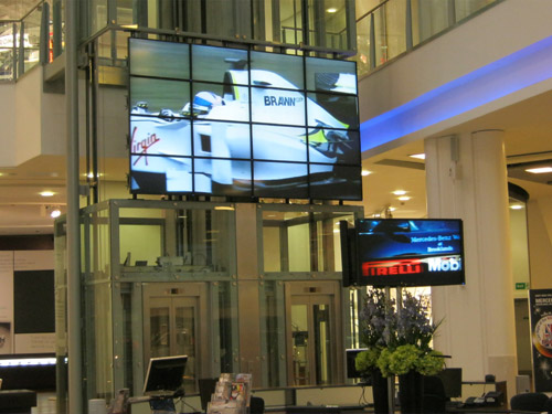 Video Wall Installation in Surrey