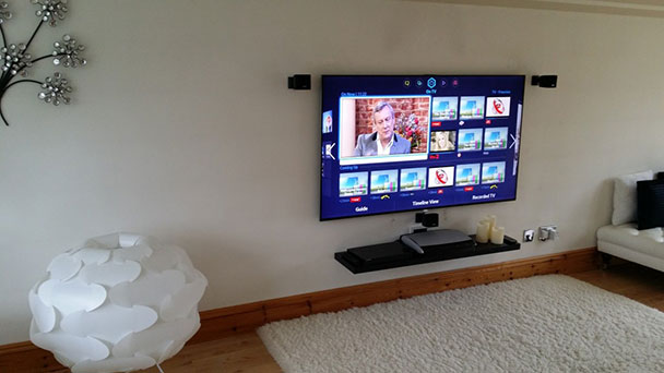 TV Wall installation Berkshire